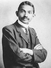 Махатма Ганди - молодой юрист