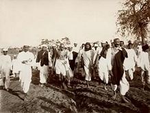 Махатма Ганди соляной бунт