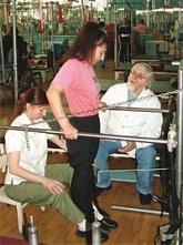 Валентин Дикуль с пациентами