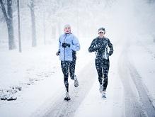 Бег в холодную погоду